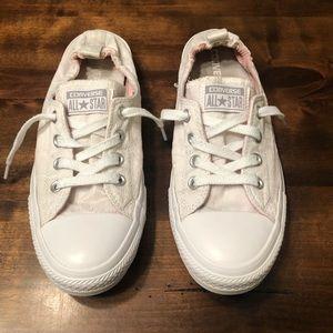 Converse | White slip on Allstar size 10